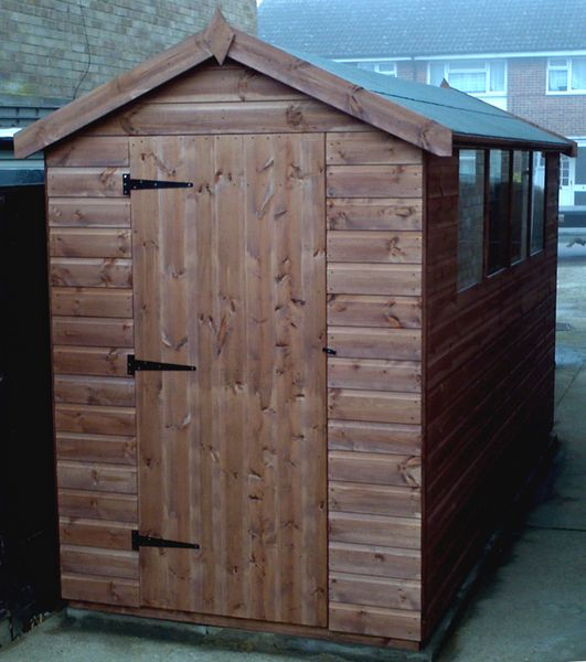 Delighful Garden Sheds X Shed And Design