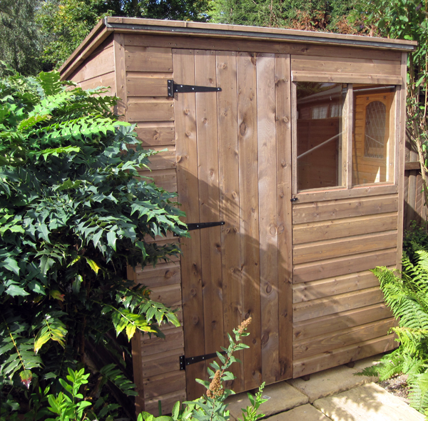 7 x 5 pent garden shed new style - Garden Sheds 7x5