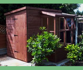 7 x 5 potting shed