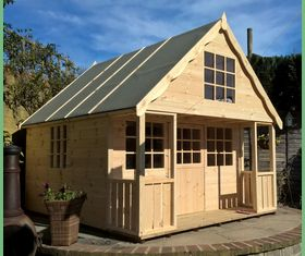 10 x 8 2 storey playhouse
