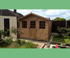 10 x 8 single door georgian workshop