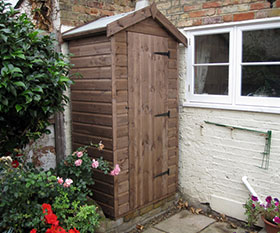 3ft 6 x 2ft 6 Sentry Box Garden Store