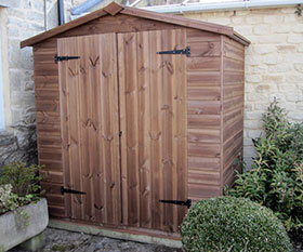4 x 6 Apex Shed Double Doors